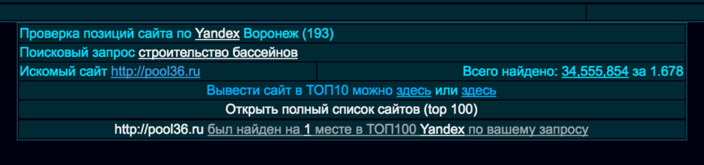 продвижение сайта в Воронеже